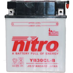 YB30CL-B Nitro Motorcycle Battery YB30CL-B WA