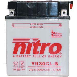 YB30CL-B Nitro Batterie De Moto YB30CL-B WA