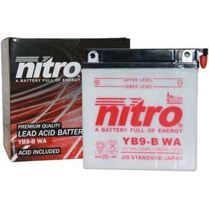 YB9-B Nitro Batterie De Moto YB9-B WA