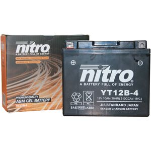 YT12B-4 Nitro Motorcycle Battery