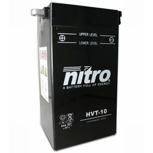 HVT-10 Nitro Motorcycle Battery - HVT 10