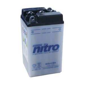 B49-6 Nitro Motorcycle Battery B49-6 WA
