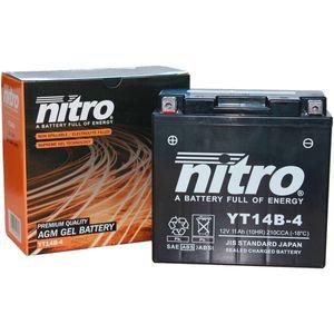 YT14B-4 Nitro Batterie De Moto