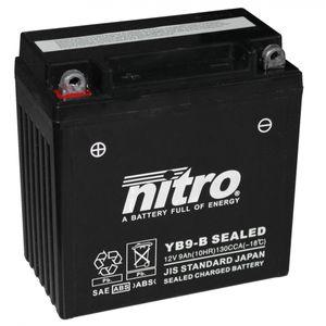 YB9-B SEALED Nitro Batterie De Moto