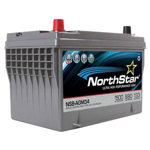 NorthStar NSB-AGM34 Ultra High Performance Battery