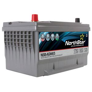 NorthStar NSB-AGM65 Ultra High Performance Battery