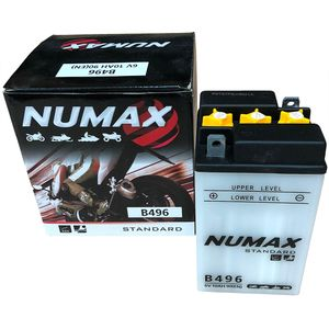 B49-6 Numax Motorcycle Battery 6V 10Ah