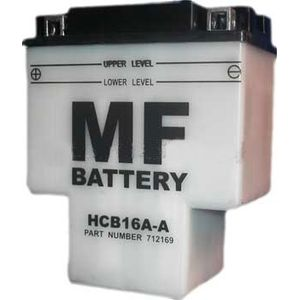 HCB16A-A Motorcycle T Shape Battery HYB16A-A