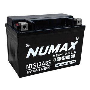 NTS12ABS Numax Motorbike Battery YT12A-BS