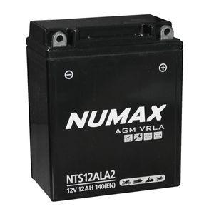 NTS12ALA2 Numax AGM VRLA Batterie De Moto 12V 12Ah YB12AL-A2