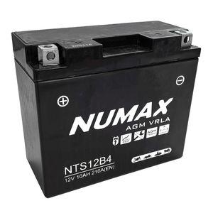 NTS12B4 Batterie De Moto Numax YT12B-4