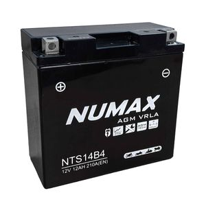 YT14B-4 Batterie De Moto Numax (NTS14B4)