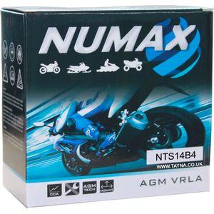YT14B-4 Numax Motorbike Battery (NTS14B4)