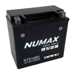 NTS14BS Numax AGM Motorbike Battery