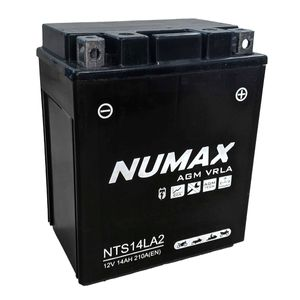 NTS14L-A2 (MB12V14LB) Sealed Numax Motorbike Battery YB14L-A2