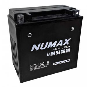 YB16CL-B (MB12V16CLB) Sealed Numax Motorbike Battery NTS16CLB