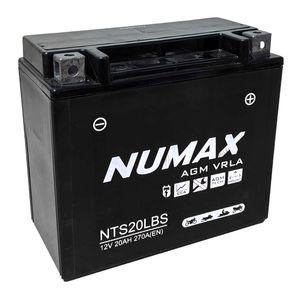NTS20L-BS Sealed Batterie De Moto Numax YTX20L-BS