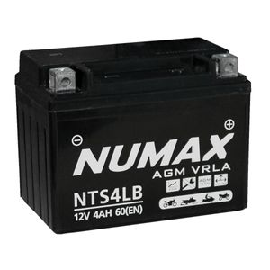 NTS4LB Numax Motorbike Battery YB4L-B