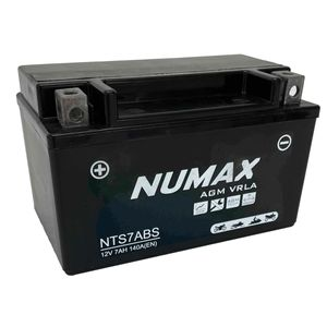 NTS7ABS Numax AGM Motorbike Battery