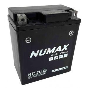 NTS7LBS Numax AGM Motorbike Battery