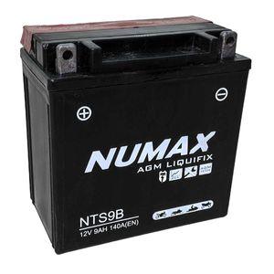 NTS9B Numax Motorbike Battery YB9-B AGM
