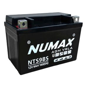 NTS9BS Numax AGM Motorbike Battery