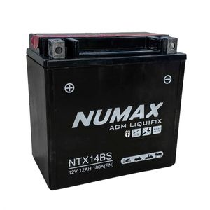 YTX14-BS Batterie De Moto Numax (NTX14-BS)