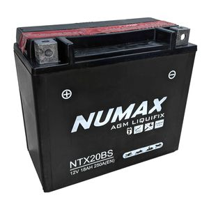 NTX20-BS Numax Motorbike Battery