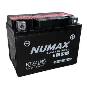 YTX4L-BS Batterie De Moto Numax (NTX4L-BS)