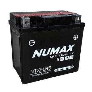 YTX5L-BS Batterie De Moto Numax (NTX5L-BS)