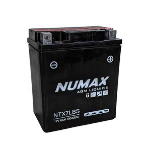 NTX7L-BS Numax Motorbike Battery