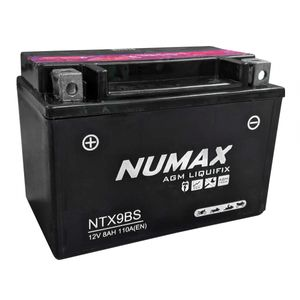 NTX9-BS Numax Motorbike Battery