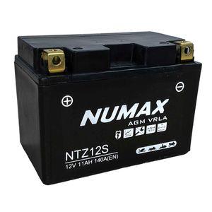 NTZ12S-BS Batterie De Moto Numax YTZ12S
