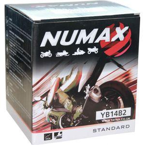 YB14-B2 Numax Motorbike Battery