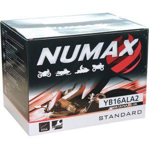 YB16AL-A2 Batterie De Moto Numax