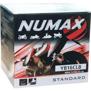 YB16CL-B Numax Motorbike/Jetski Battery