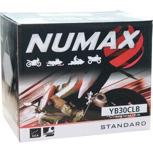 YB30CL-B Numax Battery 12V 30Ah