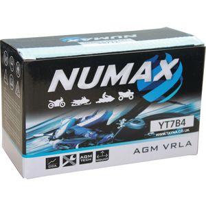 YT7B-4 Batterie De Moto Numax
