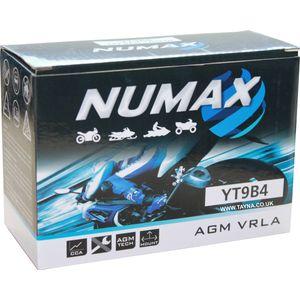 YT9B-4 Batterie De Moto Numax