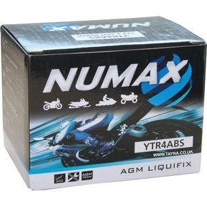 YTR4A-BS Batterie De Moto Numax