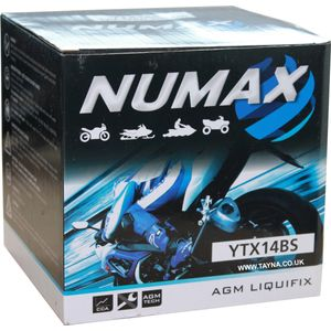 NTX14-BS Numax Motorbike Battery