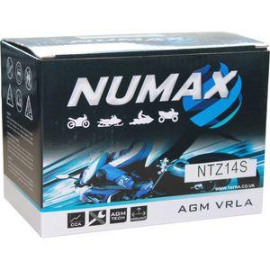 YTZ14S Numax Motorbike Battery NTZ14S