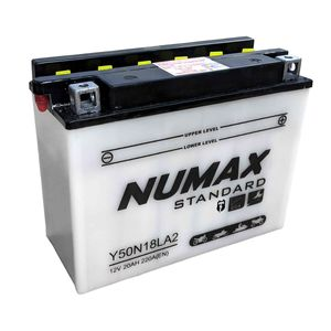Y50-N18L-A2 Batterie De Moto Numax