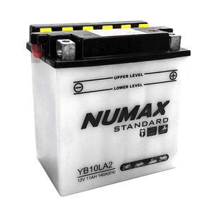YB10L-A2 Numax Batterie De Moto 12V 11Ah YB10LA2