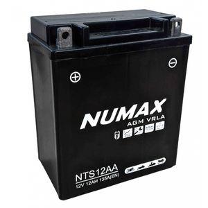 NTS12AA Numax Motorbike Battery YB12A-A