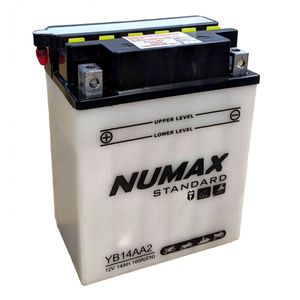 YB14A-A2 Batterie De Moto Numax