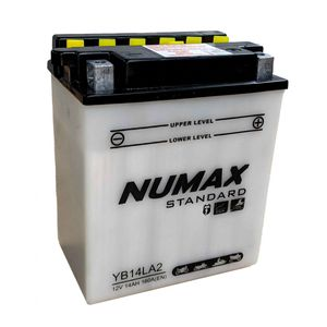YB14L-A2 Batterie De Moto Numax