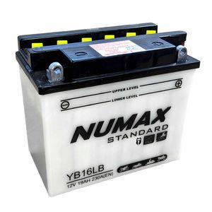 YB16L-B Numax Batterie De Moto 12V 19Ah YB16LB