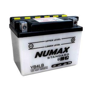 YB4L-B Batterie De Moto Numax