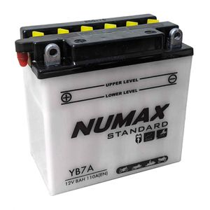 YB7-A Numax Motorcycle Battery 12V 7Ah YB7A